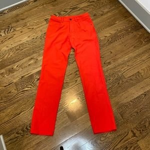Lululemon ABC Pant Bright Red